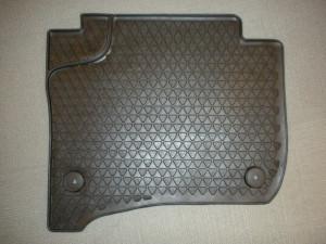 Volkswagen Touareg 2011-2014 - Коврики резиновые к-т 2 шт. задние. (VAG) фото, цена