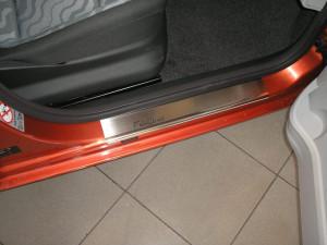 Skoda Fabia 2007-2010 - Порожки внутренние к-т 4шт фото, цена