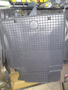 Toyota Land Cruiser Prado 2003-2012 - Коврики резиновые, темно-серые, комплект 4 штуки. (Doma) фото, цена
