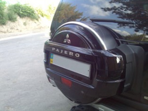 Mitsubishi Pajero 2008-2014 - Чехол на запасное колесо. фото, цена