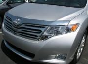 Toyota Venza 2008-2015 - Дефлектор капота (мухобойка), хромированный. AVS фото, цена