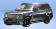 Land Rover Range Rover 2006-2009 - Боковые пороги , (Platinum) фото, цена