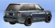 Land Rover Range Rover 2006-2009 - Спойлер заднего бампера (Platinum) фото, цена