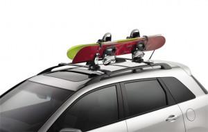 Acura MDX 2007-2012 - Крепление на багажник для сноуборда фото, цена