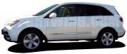 Acura MDX 2007-2013 - Молдинги хромированные, комплект 4 штуки. (USA) фото, цена