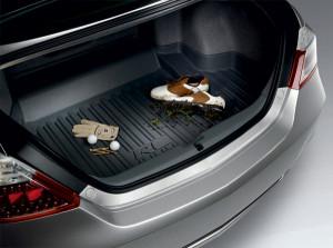 Acura RL 2006-2012 - Резиновый коврик с бортиком в багажник. фото, цена