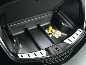 Acura ZDX 2010-2013 - Коврик в багажник, резиновый, черный. (Acura) фото, цена