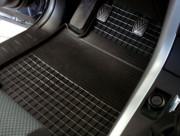 Mazda 323 1998-2003 - Коврики резиновые, черные, комплект 4 штуки. (Rigum) фото, цена