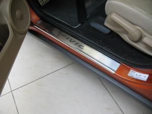 Honda Civic 2006-2010 - htb Порожки внутренние к-т 4шт фото, цена