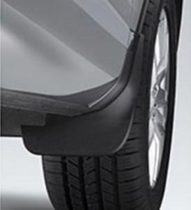 Volkswagen Touareg 2011-2015 - Брызговики передние, к-т 2 шт. (VW) фото, цена