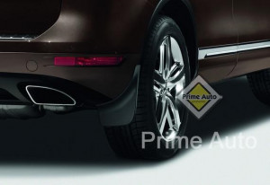 Volkswagen Touareg 2011-2015 - Брызговики задние, к-т 2 шт. (VW) фото, цена