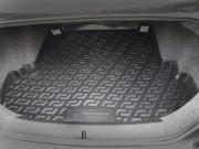 Chery QQ 2008-2012 - Резино-пластиковый коврик с бортиком для багажника. фото, цена