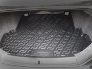 Chery CrossEastar 2007-2012 - Резино-пластиковый коврик с бортиком для багажника. фото, цена