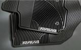 Прозрачный дефлектор капота rav4
