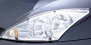 Ford Focus 2004-2008 - htb Защита передних фар, прозрачная, SIM  фото, цена