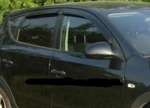 Hyundai i 30 2008-2012 - Дефлекторы окон, комплект 4 штуки, темные, EGR фото, цена