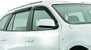 Hyundai Santa Fe 2006-2011 - Дефлекторы окон, комплект 4 штуки, темные, EGR фото, цена