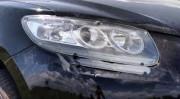 Hyundai Santa Fe 2006-2012 - Защита передних фар, прозрачная, EGR  фото, цена