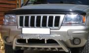 Jeep Grand Cherokee 2001-2004 - Дефлектор капота, темный, EGR фото, цена