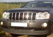 Jeep Grand Cherokee 2005-2010 - Дефлектор капота, темный. (EGR) фото, цена