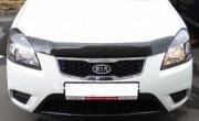 Kia Rio 2005-2011 - Дефлектор капота, темный, EGR фото, цена
