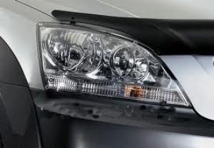 Kia Sorento 2002-2006 - Защита передних фар, прозрачная, EGR  фото, цена