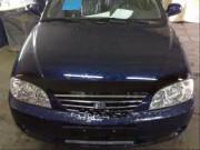 Kia Spectra 2005-2012 - Дефлектор капота, темный, BREEZE, EGR фото, цена