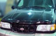 Kia Sportage 1994-2006 - Дефлектор капота, темный, EGR фото, цена