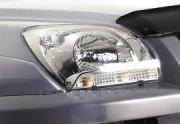 Kia Sportage 2005-2008 - Защита передних фар, прозрачная, EGR  фото, цена