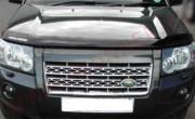 Land Rover Freelander 2007-2012 - Дефлектор капота, темный, с надписью, EGR фото, цена