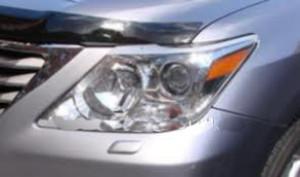 Lexus LX 2008-2012 - Защита передних фар, прозрачная. (EGR)  фото, цена