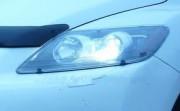 Mazda CX-7 2006-2010 - Защита передних фар, прозрачная, EGR  фото, цена