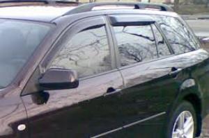 Mazda 6 2002-2007 - Universal - Дефлекторы окон, комплект 4 штуки, темные, EGR фото, цена