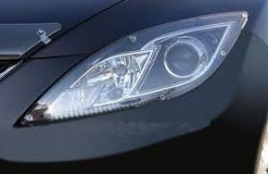 Mazda 6 2008-2012 - Защита передних фар, прозрачная, EGR  фото, цена