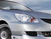 Mitsubishi Lancer 2003-2006 - Защита передних фар, прозрачная, EGR  фото, цена