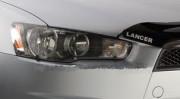 Mitsubishi Lancer 2007-2012 - Защита передних фар, прозрачная, EGR  фото, цена