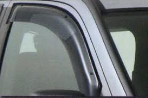 Mitsubishi Outlander 2007-2012 - Дефлекторы окон, комплект 4 штуки, дымчатые, EGR фото, цена
