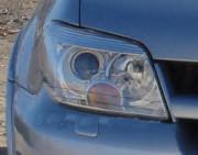 Mitsubishi Outlander 2005-2006 - Защита передних фар, прозрачная, EGR  фото, цена