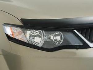 Mitsubishi Outlander 2007-2009 - Защита передних фар, прозрачная, EGR  фото, цена
