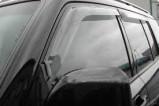 Дефлектор капота серый pajero 4