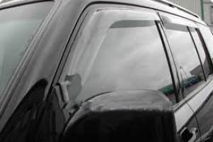 Mitsubishi Pajero 2007-2012 - Дефлекторы окон, передние, дымчатые, EGR фото, цена