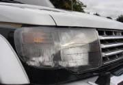 Mitsubishi Pajero 1992-1999 - Защита передних фар, прозрачная, EGR  фото, цена