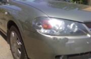 Nissan Almera 2000-2006 - Защита передних фар, прозрачная, EGR  фото, цена