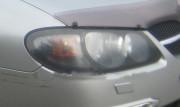 Nissan Almera 2000-2006 - Защита передних фар, карбон, EGR фото, цена