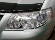 Nissan Almera Classic 2006-2012 - Защита передних фар, прозрачная, EGR  фото, цена