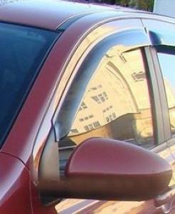 Nissan Qashqai 2007-2012 - Дефлекторы окон, комплект 2 штуки, темные, EGR фото, цена