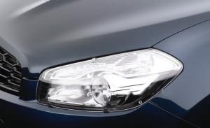 Nissan Qashqai 2010-2012 - Защита передних фар, прозрачная, EGR  фото, цена