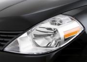 Nissan Tiida 2008-2012 - Защита передних фар, прозрачная, EGR  фото, цена
