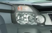 Nissan X-Trail 2007-2010 - Защита передних фар, карбон, EGR фото, цена