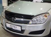 Opel Astra H 2004-2009 - Дефлектор капота, темный, EGR фото, цена